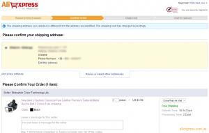 Подтвердить заказ aliexpress Confirm order