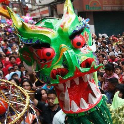 Празднование Китайского Нового года по лунному календарю 2014