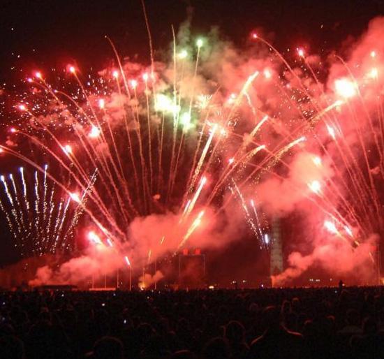 Китай Весенний Фестиваль 2014 Новый год Праздничный фейерверк
