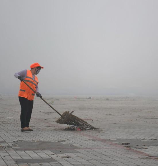 Китай После празднования Нового года 2014