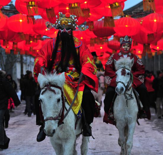 Китай Праздник Весны 2014