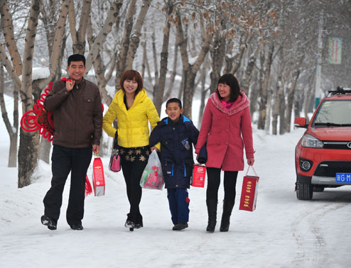 Новый Год в Китае
