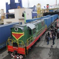 Грузовой поезд Украина — Китай