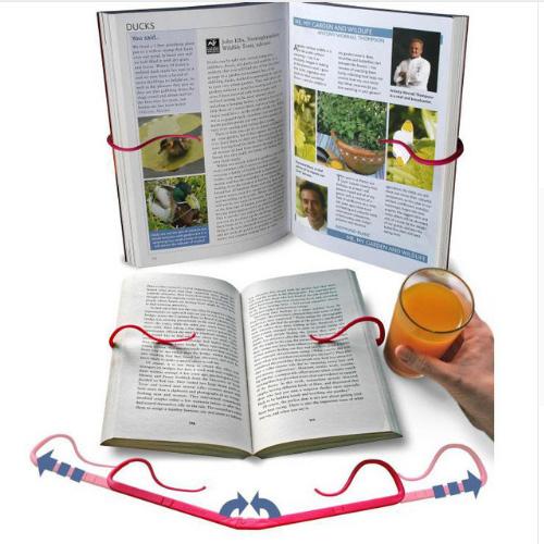 Держалка для книг, что бы страницы не переворачивались