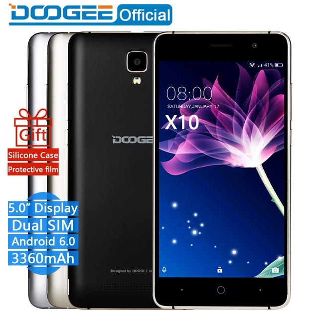 DOOGEE X10 mobile phones мобильный телефон