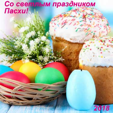 Светлый праздник Пасхи 2018 пожелания