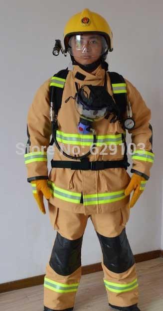 Пожарный костюм снаряжение пожарного