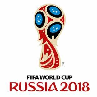 Наклейка сувенир 2018 Футбол Россия