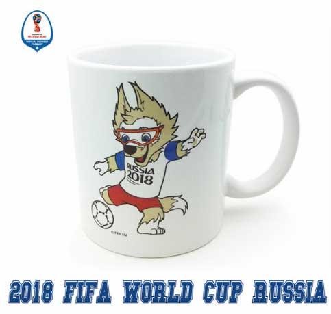Сувенирная чашка Забивака Чемпионат мира по футболу 2018