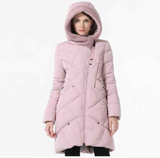 Пуховик с капюшоном купить на Алижкспресс женский куртка
