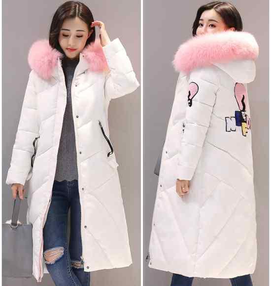 Зимнее пальто с апликацией купить на Алиэкспресс