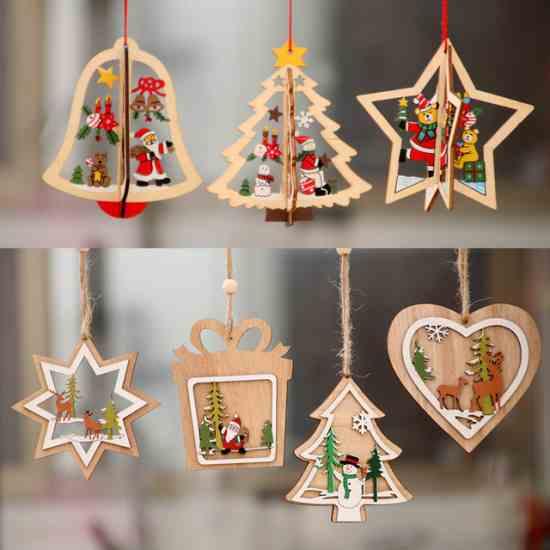Украшение для елки рождественский и новогодний декор