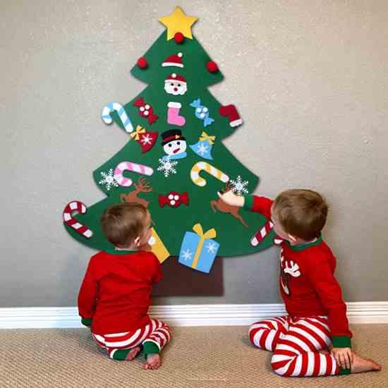 Фетровая Рождественская Новогодняя елка