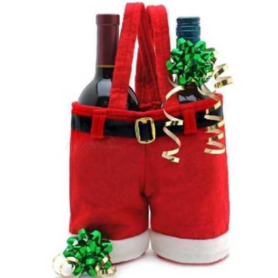 Штанишки Санта-Клауса рождественский и новогодний декор