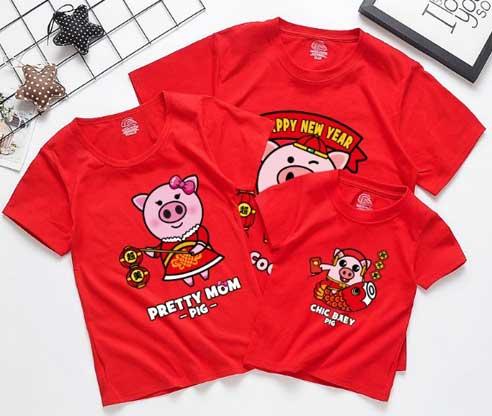 Семейные футболки, что бы была счастлива вся семья в 2019 году.