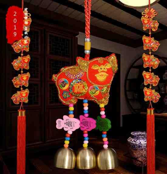 Подвеска-декор, украшение на Китайский новый год