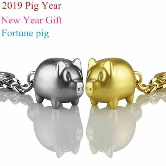 Брелок-свинья символ 2019 года