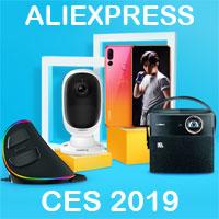 CES 2019 на aliexpress Высокие технологии AliExpress с выставки в Лас-Вегасе, США