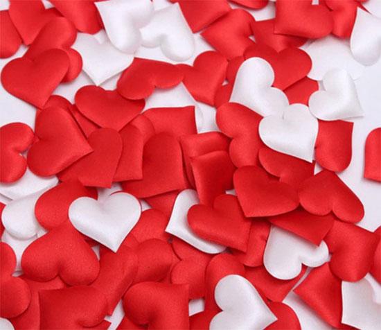 сердечки валентинки подарок романтический вечер
