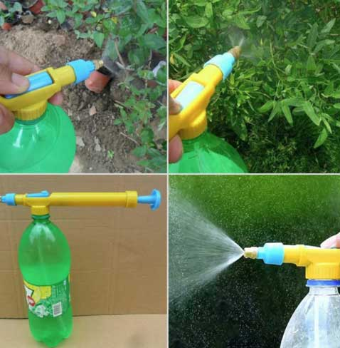 Насадка на бутылку - опрыскиватель для растений