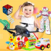 Развивающие игрушки от US $0.01 – квадрокоптеры, роботы, машинки, головоломки