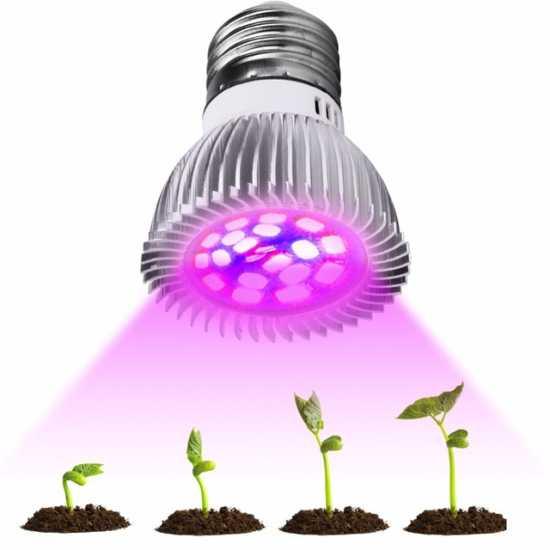 Светодиодная лампа для роста растений купить на Алиэкспресс