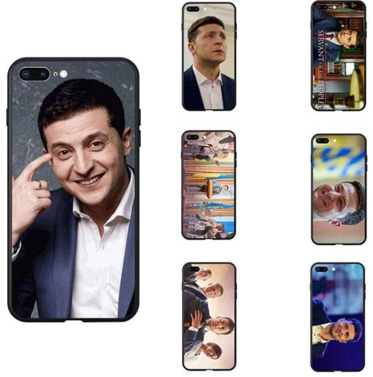 Чехлы для телефонов с фотографиями Владимира Зеленского