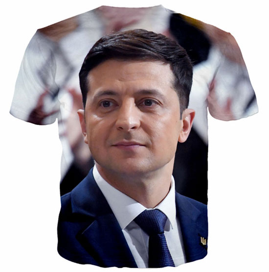 Футболка Украина 2019 новый президент Зеленский